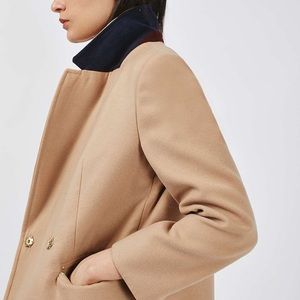 petite camel trench coat